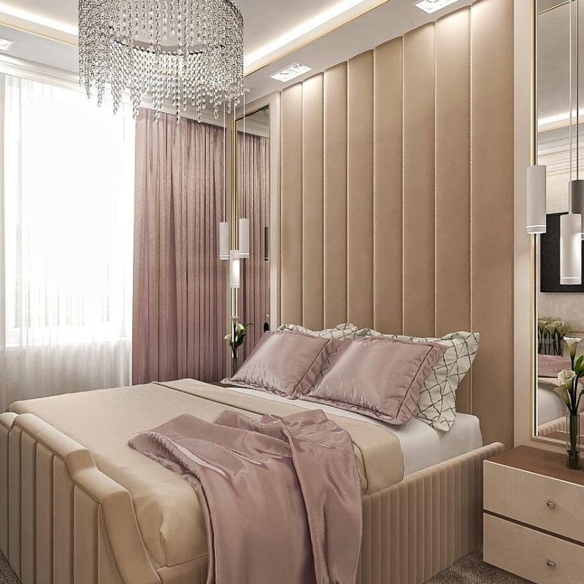 дизайн спальни в новостройке