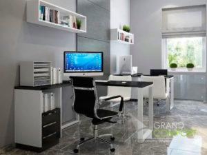 ремонт-кабинета-в-офисе
